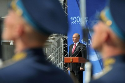 Celebration of the 100th anniversary of Russian Air Force; Photo by Kremlin.ru