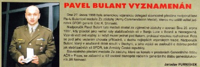 Pavel Bulant medaile