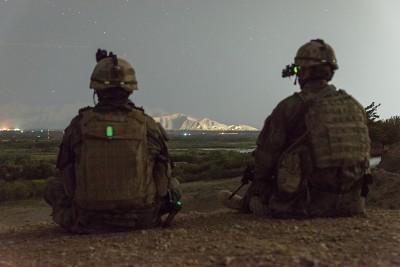 rtm. Daniel Hlaváč - Bagrám, Afghánistán, 2014