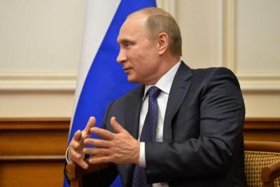 Vladimir Putin, Moscow (December 6, 2014); Photo www.kremlin.ru via Wikimedia Commons