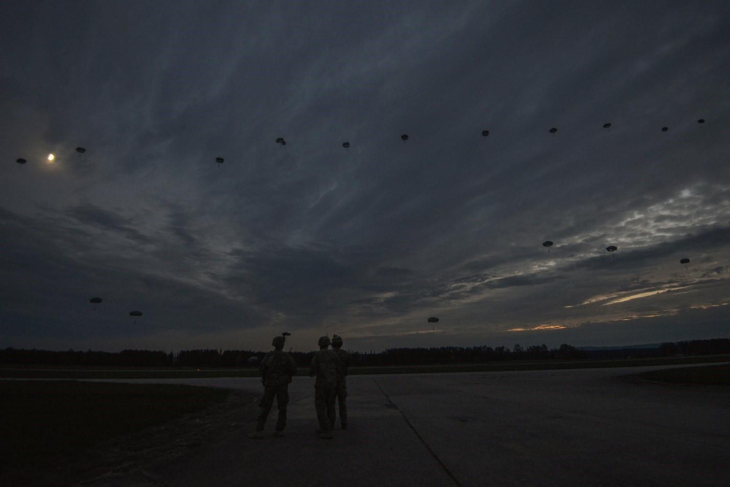 Cvičení Sky Soldier II.
