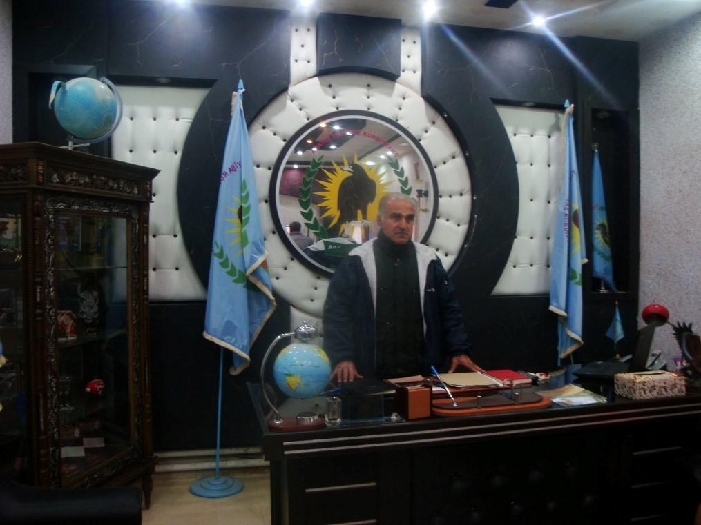 Velitelství Asaysh. Foto: Markéta Všelichová