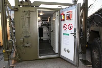 Velitelský kontejner od Vývoj Martin. Foto: Vývoj Martin