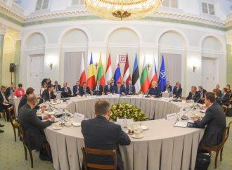 Bucharest Nine Security Platform meeting in Warsaw
