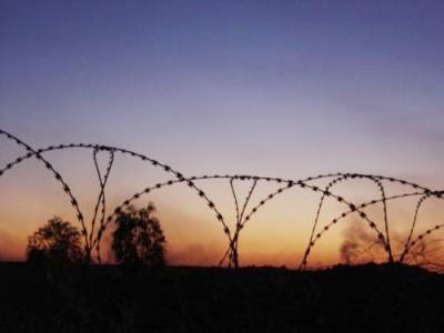 Základna Šaíba v jižním Iráku nedaleko Basry | Shaibah base in Southern Iraq close to Basrah. Photo by Dušan Rovenský, 2006-2007