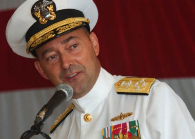 Admirál James Stavridis, nový SACEUR; U.S. Navy photo by Mass Communication Specialist 2nd Class Regina L. Brown