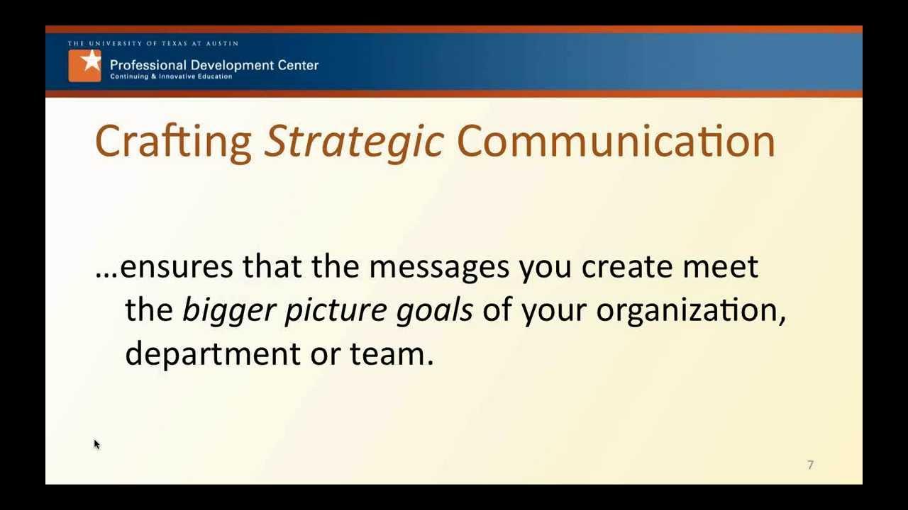 BKO pět let poté: Strategická komunikace (ještě jednou)