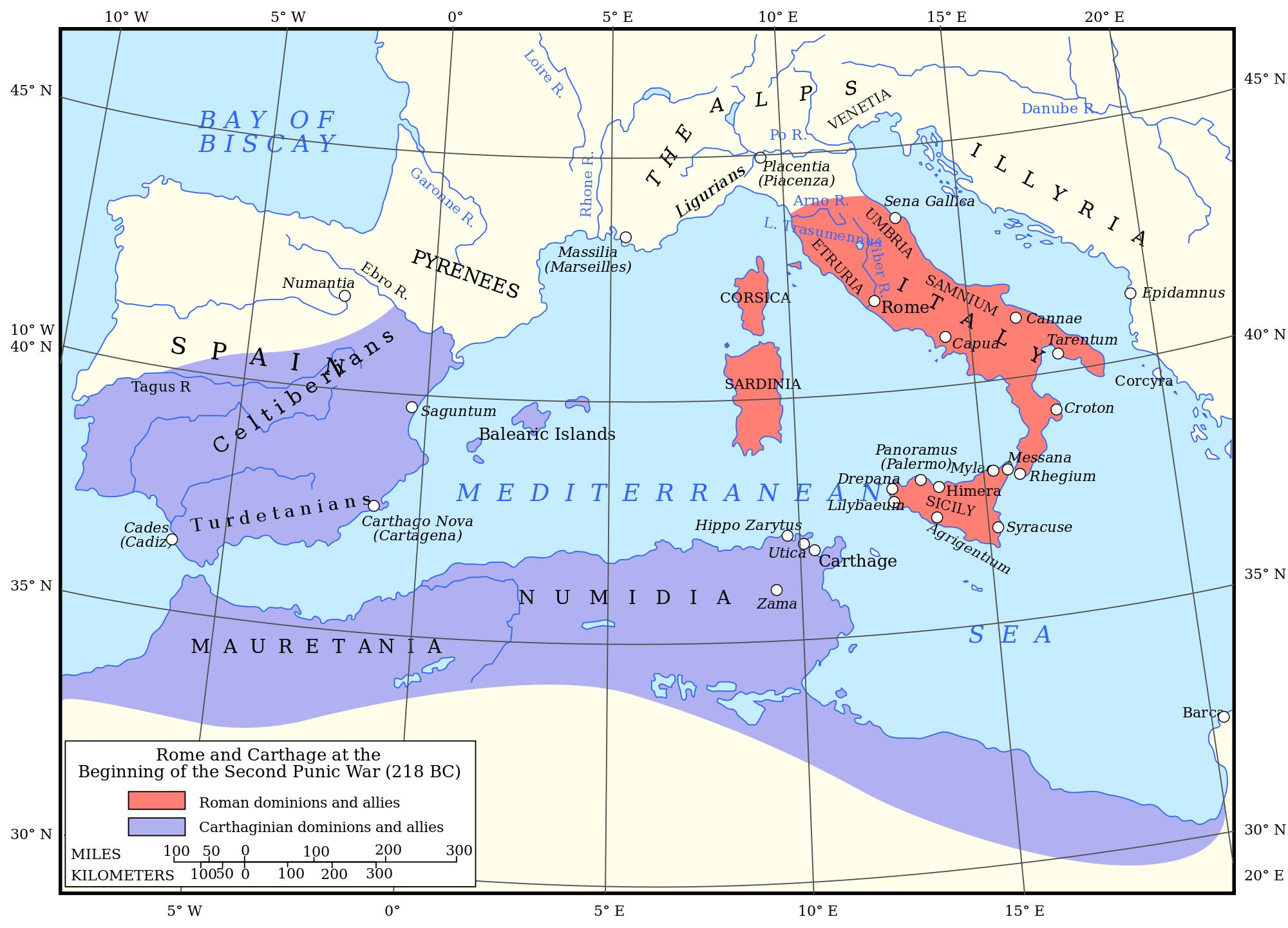 Hannibal vs. Rimania – Vojská v Druhej púnskej vojne I.