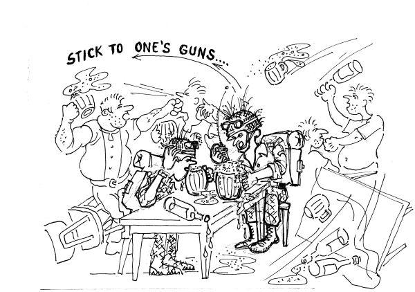 Anglické termíny Gun, Weapon, Arm… Gun I.