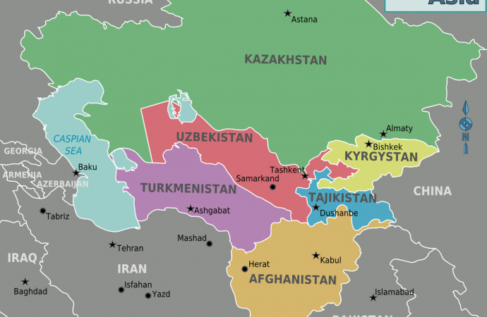 Central Asia: Setup ready for change?