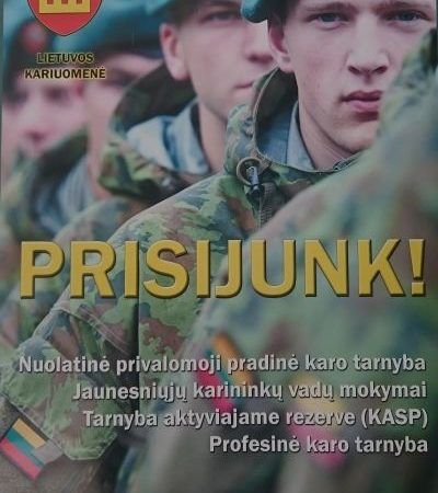 What it is like to be a Citizen-Soldier in Lithuania