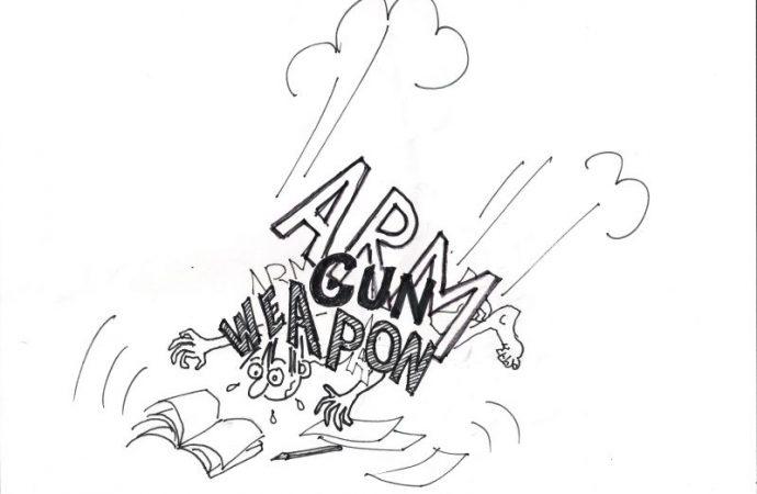 Anglické termíny Gun, Weapon, Arm: Arm III