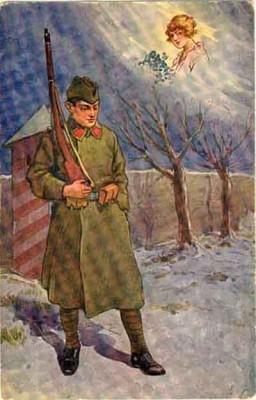 Na stráži   On guard; Vojenský historický ústav