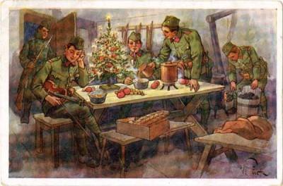 Svátky na strážnici   Holidays in guard-room; Vojenský historický ústav